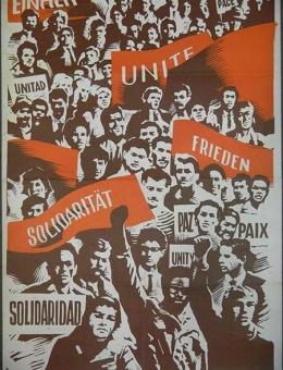 «Solidaritat, friden…» художник С.Раев 90х60