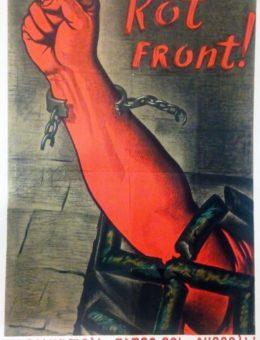 » Rot Front ! » Худ. И.Долгополов и Ю. Уэбяков 91х61 тир 1 000 «Искусство! 1939г.