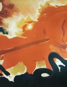 Рекламный плакат фильма «Сампо» Художник Б.Зеленский  63х102 Рекламфильм 1959г.